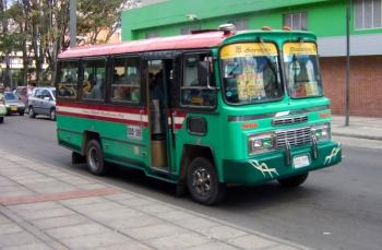 Buseta Bogotá
